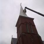 Caledon Church Steeple Repair