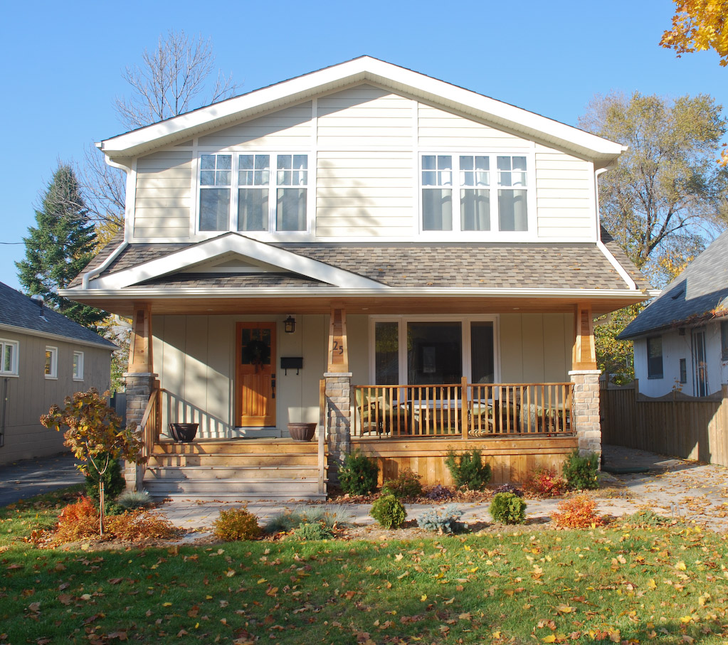 Craftsman house addition toronto for Inspire home