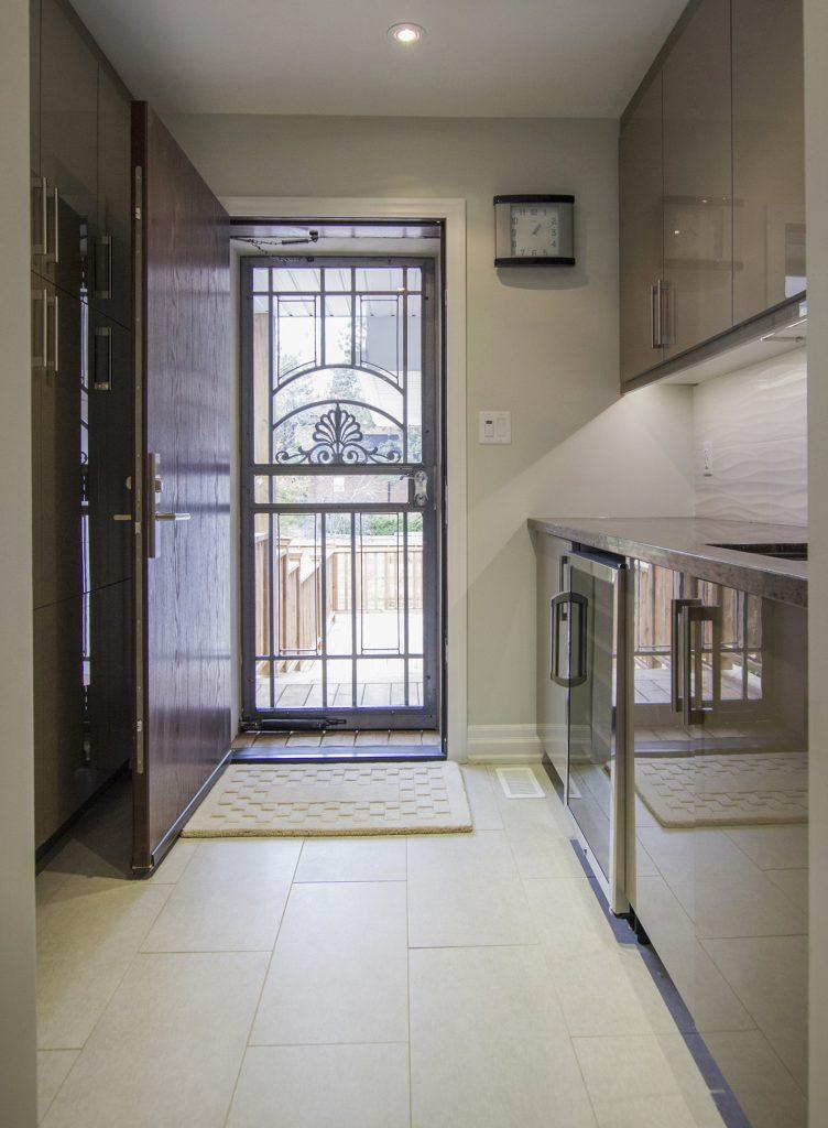 Kitchen Pantry.  North York house addition.